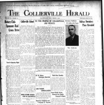 Image of CH 1941.03.07 - Collierville Herald. (Collierville, TN), Vol. 73, No. 10