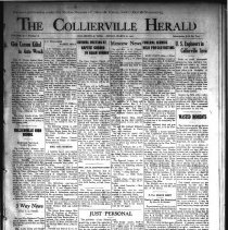 Image of CH 1941.03.21 - Collierville Herald. (Collierville, TN), Vol. 73, No. 12
