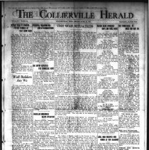 Image of CH 1941.04.25 - Collierville Herald. (Collierville, TN), Vol. 73, No. 16