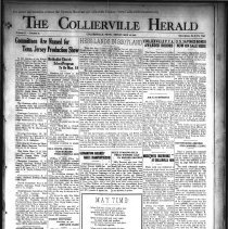 Image of CH 1941.05.16 - Collierville Herald. (Collierville, TN), Vol. 73, No. 19