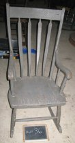 Image of X968.1.46 - Chair, Rocking