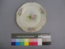 Image of 2009.3.1 - Plate, Dessert