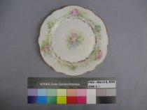 Image of 2009.3.4 Plate, Dessert
