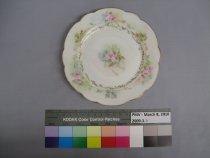 Image of 2009.3.5 Plate, Dessert