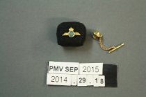 Image of 2014.29.18A - Pin, Military