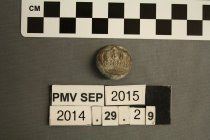 Image of 2014.29.29 - Button, Military