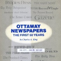 Image of Book - Ottaway Newspapers The First 50 Years
