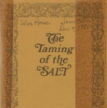 Image of Book - The Taming of the SALT