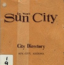 Image of Directory, Telephone - Del Webb's Sun City - City Directory