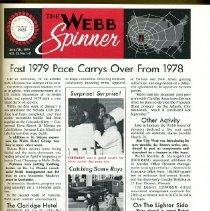 Image of Book - The Webb  Spinner   1979-1983