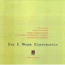 Image of Del E Webb Corporation story