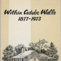 Image of Book - Within Adobe Walls 1877-1973