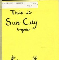 Image of Book - This is Sun City Arizona