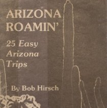 Image of Book - Arizona Roamin'     25 Easy Arizona Trips