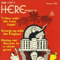 Image of Magazine - Sun City's Here magazine   October 1975.