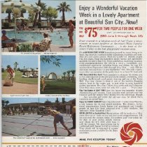 Image of Vacation apartment advertisement