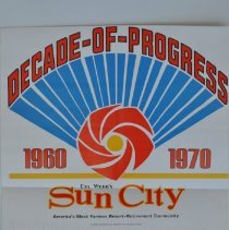 "Image of Poster - Advertisement.   ""Decade of Progress""