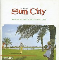 Image of Booklet - Del Webb's Sun City model home brochure for 1967 of single family homes, apartments and Mediterranean villas.  Single family home plans 41 through 46, with front exterior drawings with different elevations and floor plan layouts.   Apartment plans of A-11, A-12 and A-13, with front exterior drawings in different elevations and floor plan layouts.   Mediterranean Villa plans M-1 through M-5, with front exterior drawings and floor plan layouts.