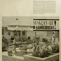 Image of Shakespeare & hamburgers