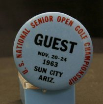 Image of Sun City General - 1963 US National Golf Championship.  Photo by Bob McColley.