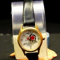 Image of Sun City General - 40th Anniversary wristwatch of Sun City.  Deed of gift by Jerry Miller on April 1, 2006.  Photo by Bob McColley.