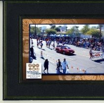 Image of Sun City General - Framed picture of the Sun City Poms marching in the 2009 VA Veterans Day Parade.