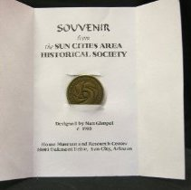 Image of Sun City 25th Anniversary Commemorative Medal
