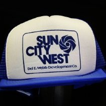 Image of Sun City West General - Sun City West baseball cap.    Photo by Bob McColley.