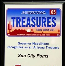 Image of Sun City Poms proclaimed Arizona State Treasure