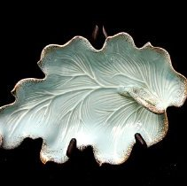Image of 1960's Household - Aqua ashtray.  Photo by Bob McColley.