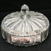 Image of 1960's Household - Two piece candy dish.  Photo by Bob McColley.