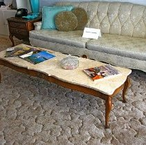 Image of 1960's Household - Coffee table.  Photo by Bob McColley.