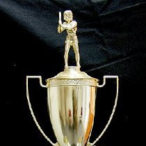 Image of Sun City General - Amateur Softball Association Womens Regional Champions trophy.  Photo by Bob McColley.