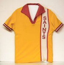Image of Sun City General - Yellow Sun City Saints shirt. Photo by Bob McColley.