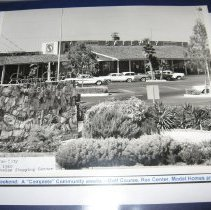 Image of Sun City General - Photo of  Sun City Opening Weekend with recreation center, golf course, model homes and stores.