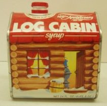 Image of Sun City General - Log Cabin syrup dispenser.