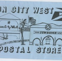 Image of Sun City West Stamps, Envelopes & Programs - Program from Grand Opening of Sun City West post office on February 27, 1995.
