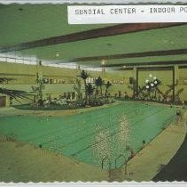 Image of Postcard - Postcard of Sundial Recreation Center in 1975.