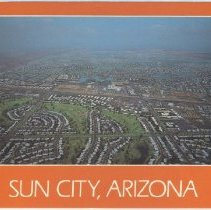 Image of Postcard - A 1980 postcard of an aerial view of Sun City, Arizona.