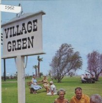 Image of Postcard - Postcard of Sun City golf course in 1962.