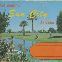 Image of Postcard - Postcard packet of various pictures in Sun City, the date is unknown.