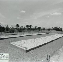 Image of Cemetery - Sunland Memorial Park -Garden Crypts - construction underway