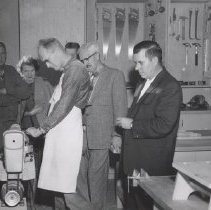 Image of Woodworking Shop on opening day - Clubs