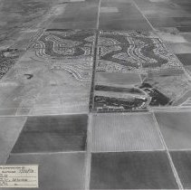 Image of Job No. 3442 - Photo 24 - Photographic record of the development of Sun City in periodic aerial photos.  