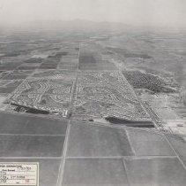 Image of Job No. 3442 - Photo 36 - Photographic record of the development of Sun City in periodic aerial photos.  