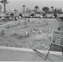 Image of Fairway Recreation Center - Swimming pool - sign giving weather report