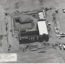 Image of Marinette Recreation Center - Aerial view of construction 