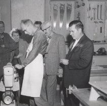 Image of Oakmont Recreation Center - Woodworking shop open January, 1960