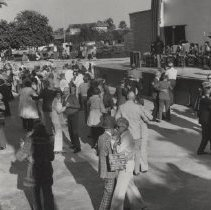 Image of Sun Bowl Celebrity Series - Residents enjoy dancing to Bob Crosby and his orchestra