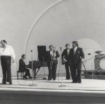 Image of Al Hirt, jazz trumpeter, at Sun Bowl